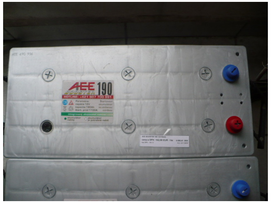 AEE BOOSTER 12V 190Ah