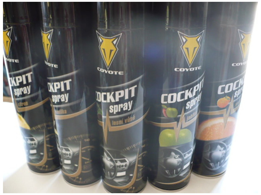 Coyote cockpit spray 400ml